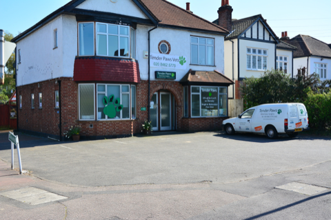 front of our West Wickham surgery